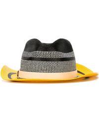 Etro - Striped Colour Block Hat - Lyst