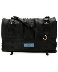 Prada - 1bd0812ebpvoop F0002 Leather/fur/exotic Skins->calf Leather - Lyst