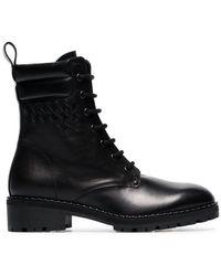 Bottega Veneta - Black Eldfell Leather Boots - Lyst