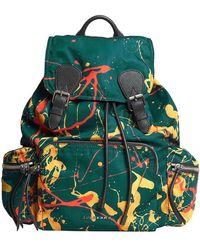 Burberry - Large Rucksack In Splash Print - Lyst