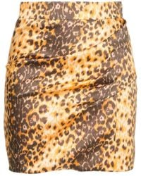 Manning Cartell - Jaguar Print Mini Skirt - Lyst