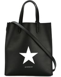 Givenchy - Medium Stargate Star Leather Tote - Lyst