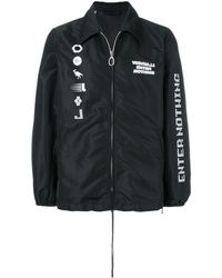 Lanvin - Enter Nothing Bomber Jacket - Lyst