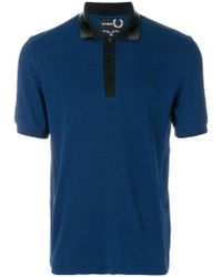Fred Perry - Tape Collar Pk Polo Shirt - Lyst