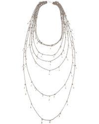 Marc Le Bihan - Multiple Chain Necklace - Lyst