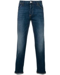 Pt05 | Cropped Jeans | Lyst