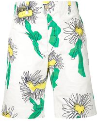 Julien David - Floral Deck Shorts - Lyst