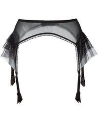 Lascivious - 'kitty' Suspender Belt - Lyst