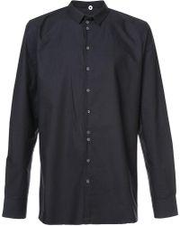 Label Under Construction - Buttoned Slim-fit Shirt - Lyst