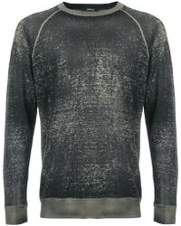 Avant Toi - Faded Sweatshirt - Lyst