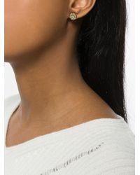 Aurelie Bidermann | 18kt Gold Bouquet Earring | Lyst