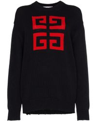 Givenchy - Jersey con emblema 4G - Lyst