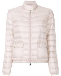Moncler - Zipped Fitted Padded Jacket - Lyst