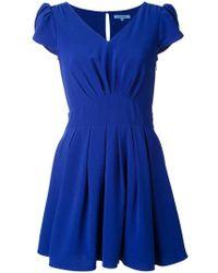 Guild Prime - Petal-Sleeve Jersey Mini Dress - Lyst