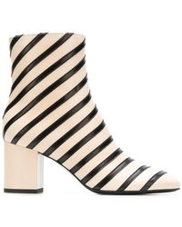 Sonia Rykiel - Striped Ankle Boots - Lyst