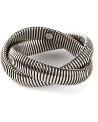 Janis Savitt - Twist 'cobra' Bracelet - Lyst