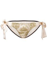 Gilda & Pearl - 'harlow' Tie-side Knickers - Lyst
