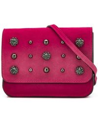 L'Autre Chose - Embellished Belt Bag - Lyst