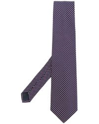 Fashion Clinic - Square Pattern Tie - Lyst