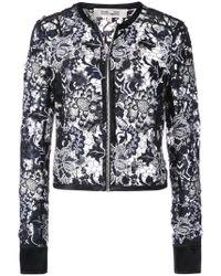 Diane von Furstenberg - Sheer Lace Jacket - Lyst