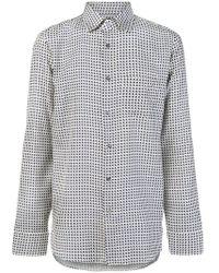 Gucci - Gg Print Shirt - Lyst
