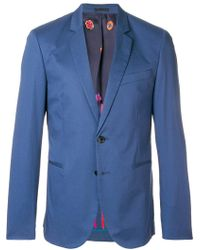 PS by Paul Smith - Fitted Button Blazer - Lyst