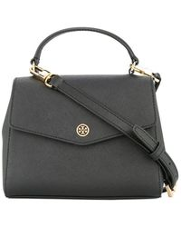04997563c72 Tory Burch - Robinson Small Top-handle Satchel - Lyst