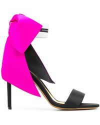 Alexandre Vauthier - Oversized Bow Sandals - Lyst