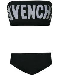 Givenchy | Printed Logo Bikini | Lyst