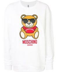 Moschino   Swim Sweatshirt   Lyst