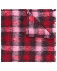 DSquared² - Checked Tartan Scarf - Lyst