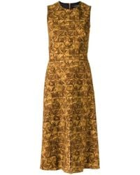 Andrea Marques - Flared Dress - Lyst