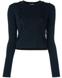 Neil Barrett - Cable Knitted Jumper - Lyst