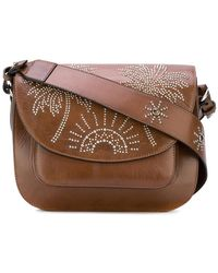 HTC Hollywood Trading Company - Palm Tree Studded Satchel - Lyst