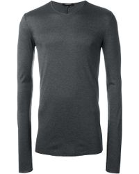 Unconditional Ribbed Fine Knit Jumper