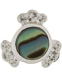 Astley Clarke - Mini Abalone Luna Studs - Lyst