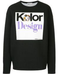 Kolor - Embellished Print Sweatshirt - Lyst