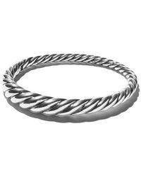 David Yurman - Pure Form Cable Bangle - Lyst