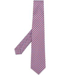Kiton - Patterned Tie - Lyst