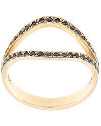 Marlo Laz - 'the Nini' Sapphire Ring - Lyst