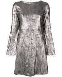 DROMe - Flared Sleeve Dress - Lyst
