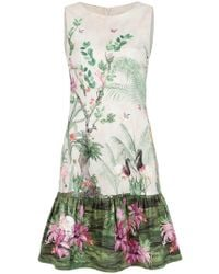 Isolda - Babado Arábia Straight Dress - Lyst