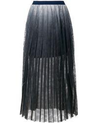 Aviu - Pleated Midi Skirt - Lyst