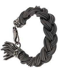Emanuele Bicocchi   Woven Chains Bracelet   Lyst