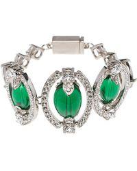 embellished beads bracelet - Green Miu Miu HW1GD