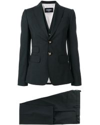 DSquared² - Three-piece Trouser Suit - Lyst