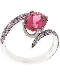 Shaun Leane - Aurora Tormaline And Sapphires Ring - Lyst