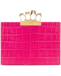 Alexander McQueen - Square Shaped Clutch - Lyst