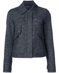 Derek Lam - Cropped Jacket With Zipper Detail - Lyst