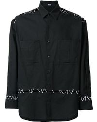 KTZ - Pin Embroidery Shirt - Lyst